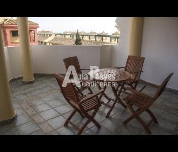 Alquiler apartamento con bonitas vistas en la urbanización Mar de Plata en Zahara de los Atunes.
