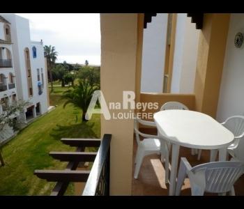 Alquiler precioso apartamento con vistas en la urbanización Atlanterra Playa en Zahara de los Atunes